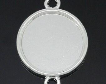 2 blank pendant tray (pr 20mm)