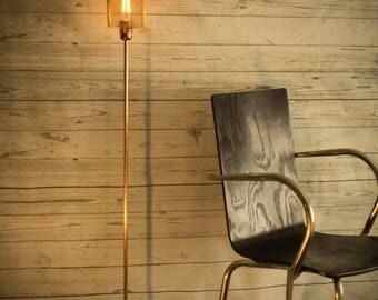 10% OFF Industrial concrete copper floor lamp, Industrial lamp, Floor light, Copper lamp, Edison floor lamp Standing lamp Original floor Lam