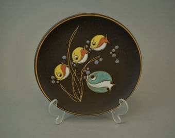 Vintage wall plate / Ruscha / 717 1 | West Germany | WGP | 60s