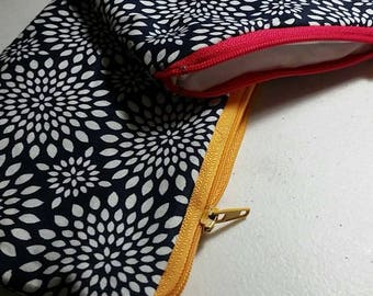 Zippered Bags - 100% cotton - FREE SHIPPING