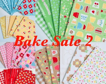 Fat Quarter Bundle Options Bake Sale 2 by Lori Holt of Bee in My Bonnet for Riley Blake Designs