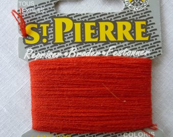 Wool red color Peter 510