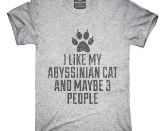 Funny Abyssinian Cat Breed T-Shirt, Hoodie, Tank Top, Gifts
