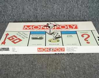 1985 Monopoly Board Game