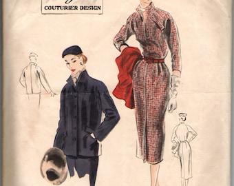 Vogue Couturier Design 646  One-Piece Dress and Jacket