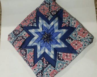 Quilted Pot Holder/ Hot Pad
