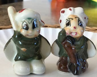 Occupied Japan-Mini Beetles or Lady Bugs figurines