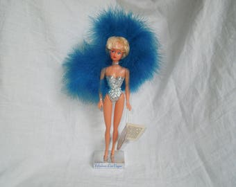 70s Las Vegas Souvenir Showgirl Barbie Doll By Fiona Originals
