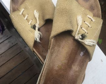 Vintage Birkenstock slides sandals