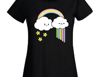 t shirt kawaii cloud