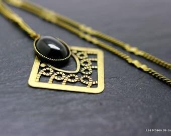 Pendant art deco Emma, pendant, necklace