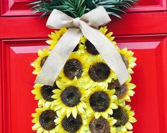 Pineapple Wreath   Pineapple Sunflower Wreath   Sunflower Wreath   Welcome Wreath   Yellow Wreath   Summer Wreath   Fall Wreath