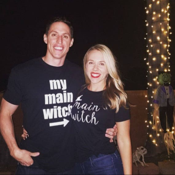 Honeymoon Shirts, Just Married Shirts, Couples Costume Ideas, Couples Shirts, Funny Halloween Costume, Hubby Wifey Shirts, Mr and Mrs Shirts