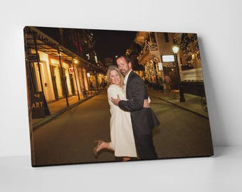 Canvas Photo, Canvas Photo Wrap, Canvas Wraps, Gallery Wrapped Print, Personalized Canvas Print, Wedding Gift, Wedding Canvas Photo