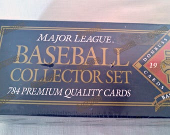 Vintage Baseball Cards, 1992 Donruss Complete Set MLB Cards, Factory Sealed, Possible Cal Ripken Autographed Card, Collector's Edition