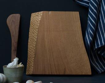 Boof Oak Chopping Block by Konk!  - Handmade Chopping / Serving Board