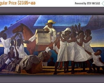 20% Off Sale - Poster, Many Sizes Available; Mail Service In The Tropics By Rockwell Kent