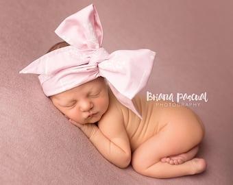 RUSTIC BLOOM Gorgeous Wrap- headwrap; fabric head wrap; floral head wrap; bows; newborn headband; baby headband; toddler headband