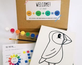 Puffin Paint Kit
