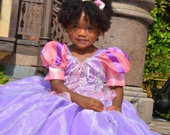 Rapunzel, princess Rapunzel, tangle , princess inspired dress, Tangle dress