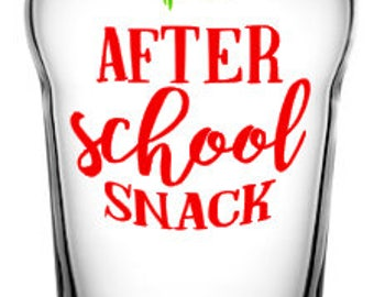 After School Snack Pint Glass