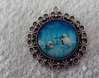 Olaf necklace - The snow Queen / frozen