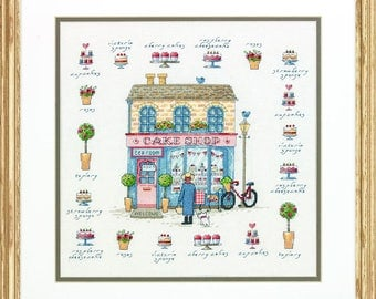 Dimensions Cake Shop Counted Cross Stitch Kit