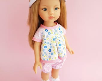 Clothes for Corolle Les Cheries doll. Paola Reina doll Clothes. Costume for Paola Reina Dolls 13 inch. 12 inch doll costume.