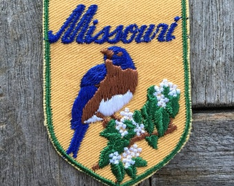 Missouri Vintage Souvenir Travel Patch from Baxter Lane