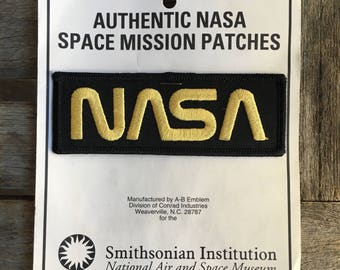 ONLY ONE! NASA Vintage Souvenir Travel Patch