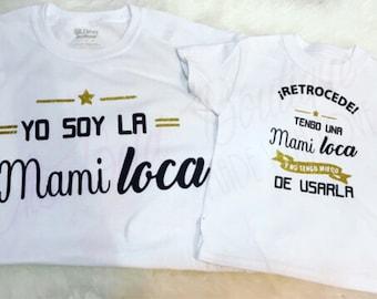 MOM & Daughter tshirts