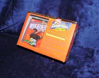 1999 Tiger Woods Wheaties Commemoritive Mini Box