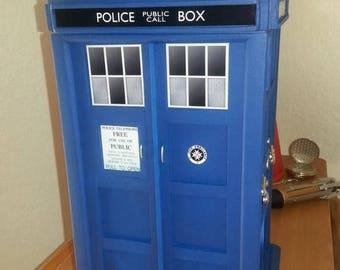 ON SALE NOW Tardis Inspired Large Jewelry Box v.1.0