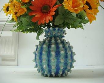 Vase handmade natural design.