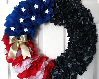 Navy Wreath, Camouflage Wreath, Military Family, Homecoming, Deployment, Navy, Army Wreath, Army Wife