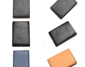 Wallet, Leather Wallet, Personalized Leather Wallet, Front Pocket Slim Design, Minimalist Credit Card Wallet, Mens Leather Wallets, RFID