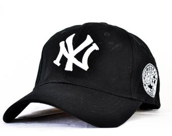 CASQUETTE  baseball reglable blanc - NY new-york yankees // baseball cap - new york yankees - snapback system - white color