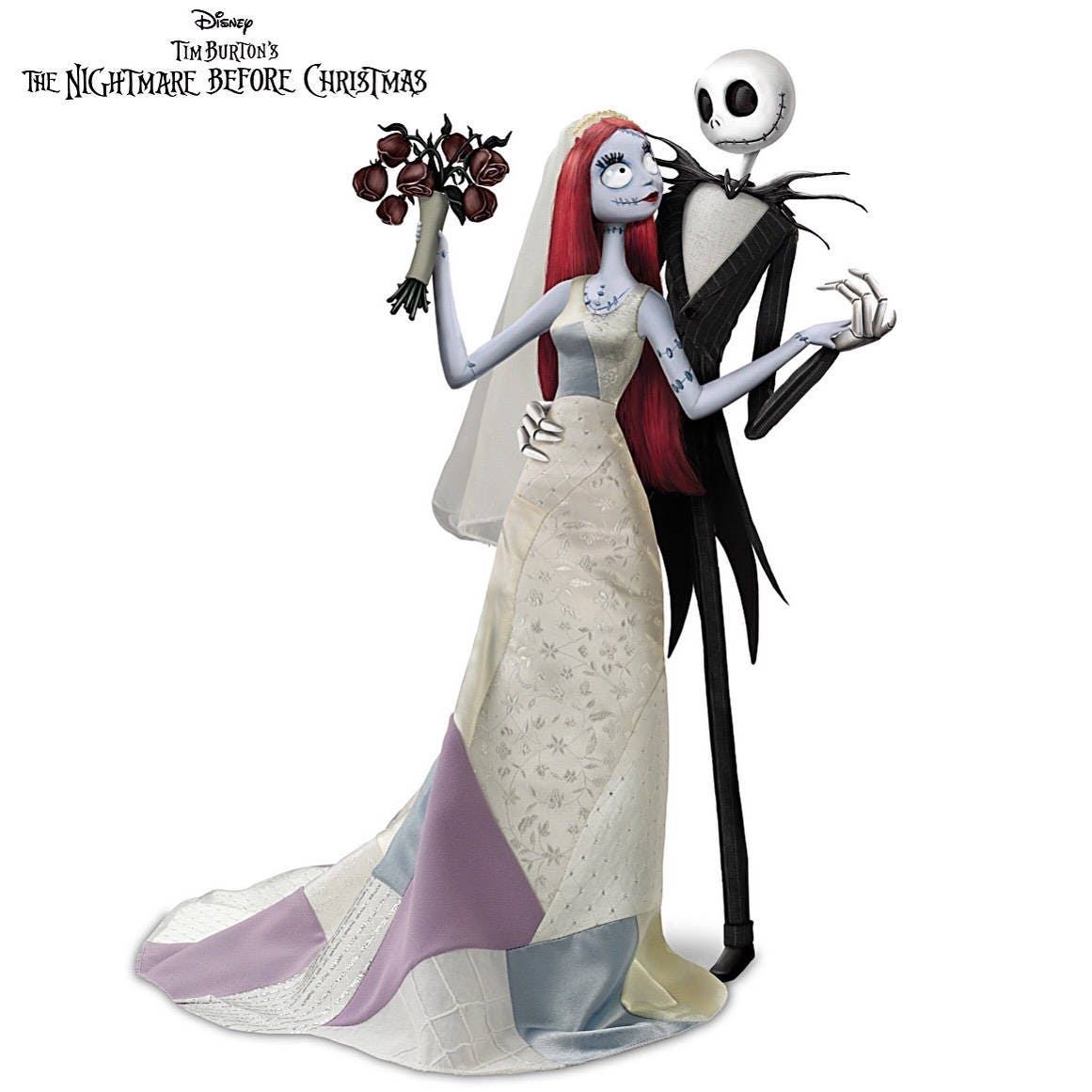 Nightmare Before Christmas Jack And Sally\'s Nightmare Romance Doll ...