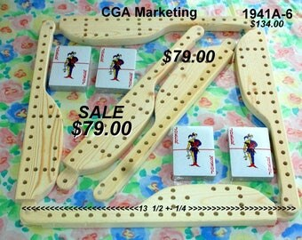 FREE Pegs n Jokers 1964M-4 Mini with purchase of 1941A-6 pegs n Jokers Sale Price 7900