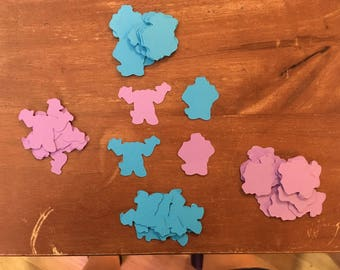 Sulley Table Confetti from Monsters Inc (100 total pieces)