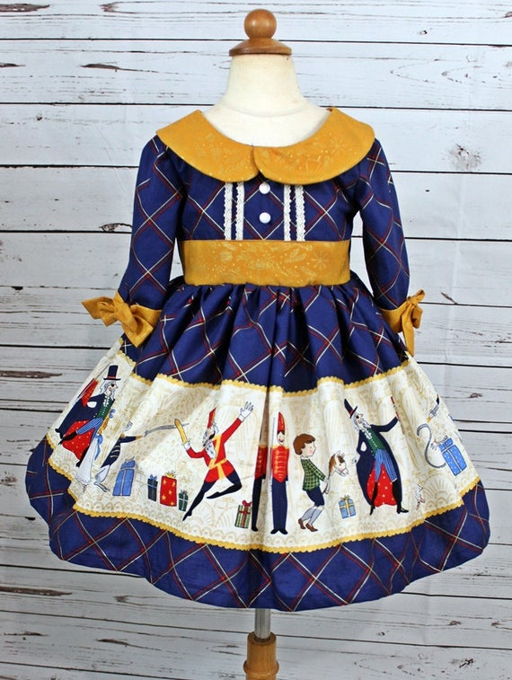 Girls Nutcracker Dress Girls Christmas Dress Toddler Girls