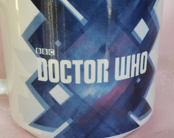 Doctor Who Ceramic Coffee Tea Mug Licensed by BBC Worldwide Limited Made in 1996