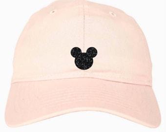 Disney Hat - Disney Baseball Cap - Disney Baseball Hat - Disney Mickey Hat - Mickey Ears - Disney Ears - Magic Kingdom Hat