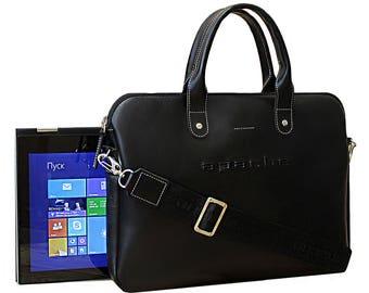 Genuine leather briefcase, Men beautiful briefcase, Men soft briefcase, Men stylish bag, Men leather accessories, Men bags, student PC bag
