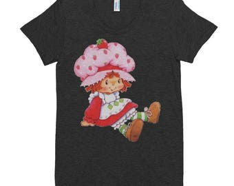 Strawberry Shortcake Women's Crew Neck T-shirt
