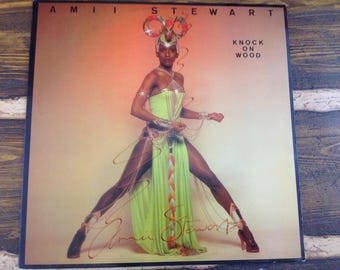 Amii Stewart Knock on Wood Vintage Vinyl Record LP 1979