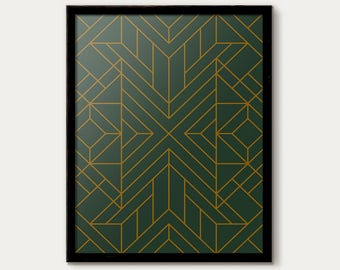 Attractive Art Deco Wall Art