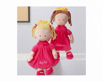 Personalized Dibsies Princess Doll - 16 Inch - Brunette