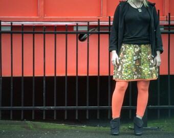 Cute Custom-made knee length Skirts, vintage inspired style