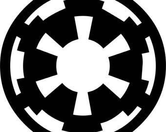 Star Wars Galactic Empire Vinyl Decal Sticker